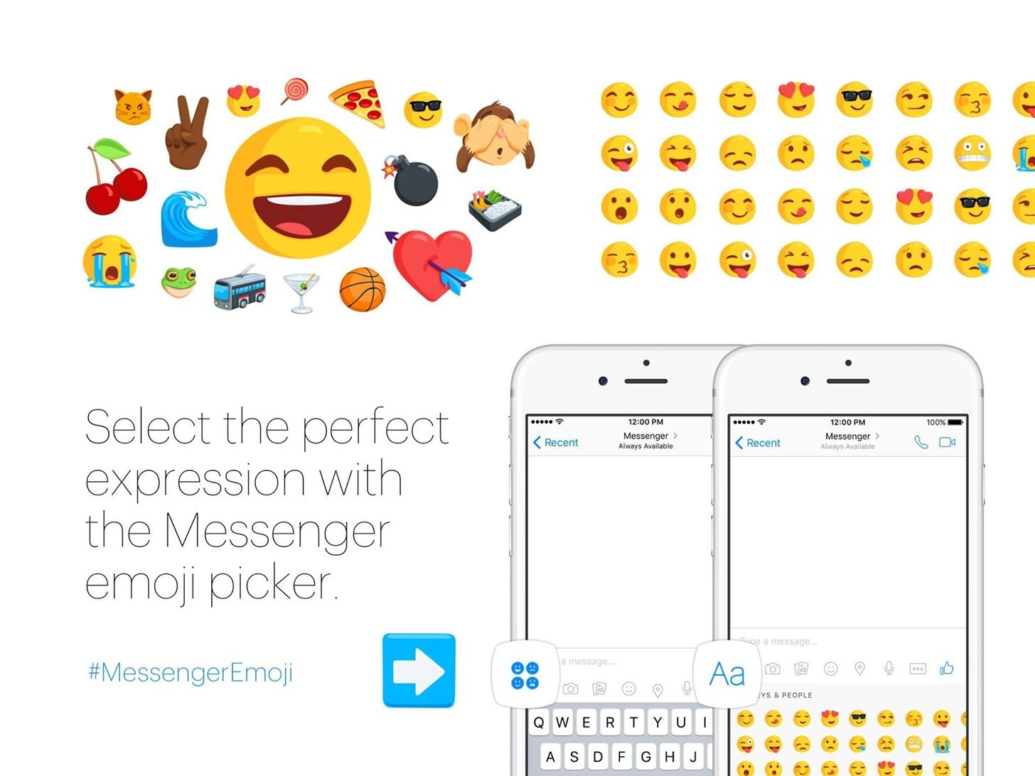 Facebook Messenger Brings 1,500 Diverse Emoji to Its App