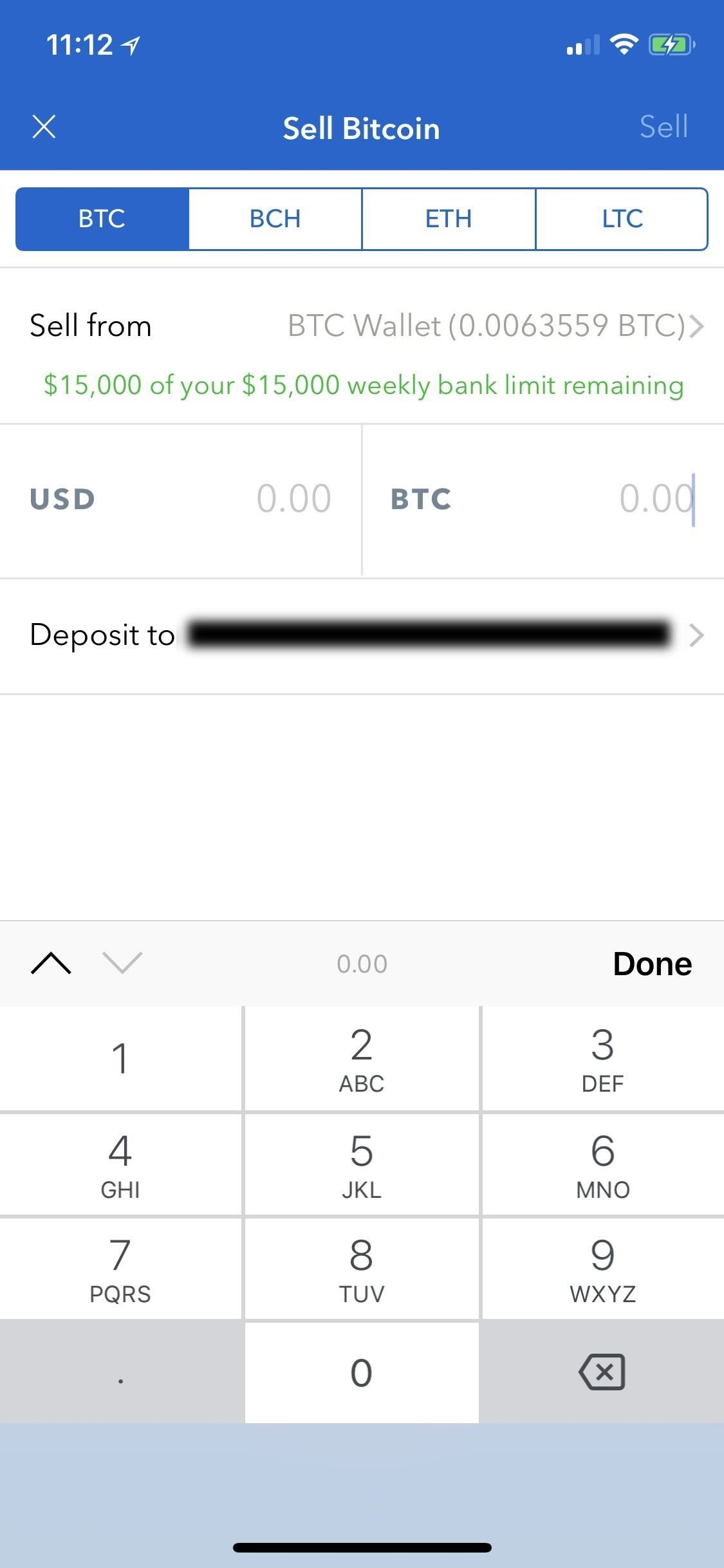Coinbase 101 how to buy sell bitcoin bitcoin cash ethereum after choosing an account to deposit your money into youll be automatically taken back to the sales page from there either input the cryptocurrency ccuart Images