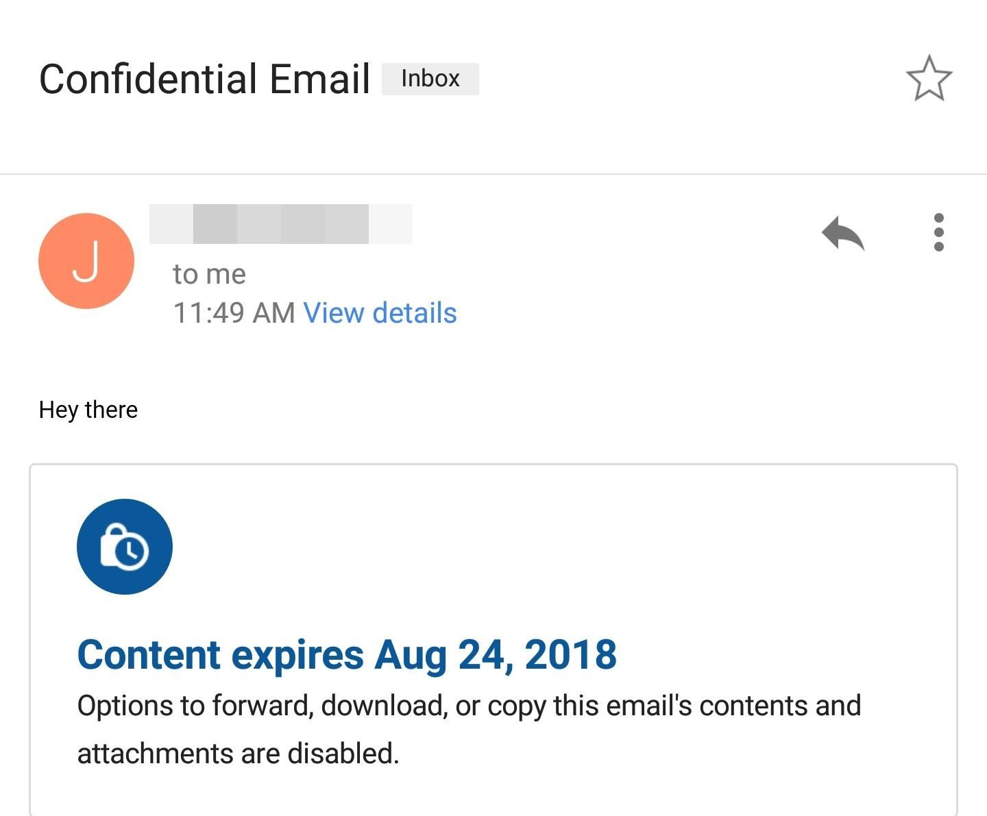 How to Use Gmail's New Confidential Mode to Send Private, Self-Destructive E-Mails From Your Phone