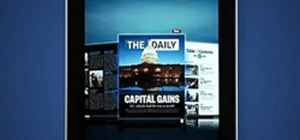 Use 'The Daily' iPad App (The First iPad-Only Newspaper)