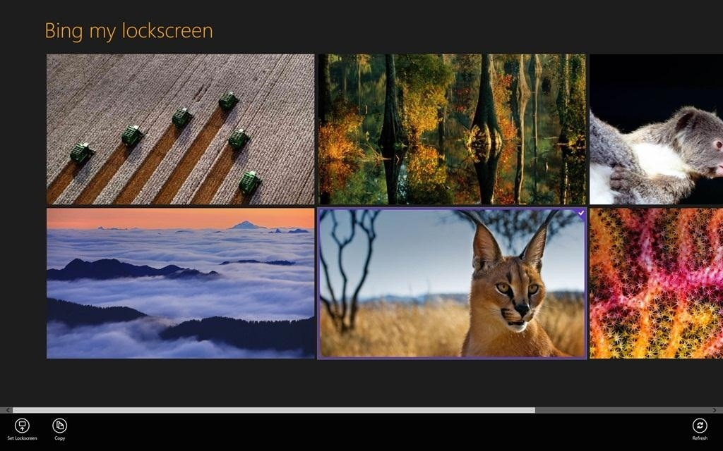 How to Automatically Add Bing's Daily Background Images to Your Windows 8 Lockscreen