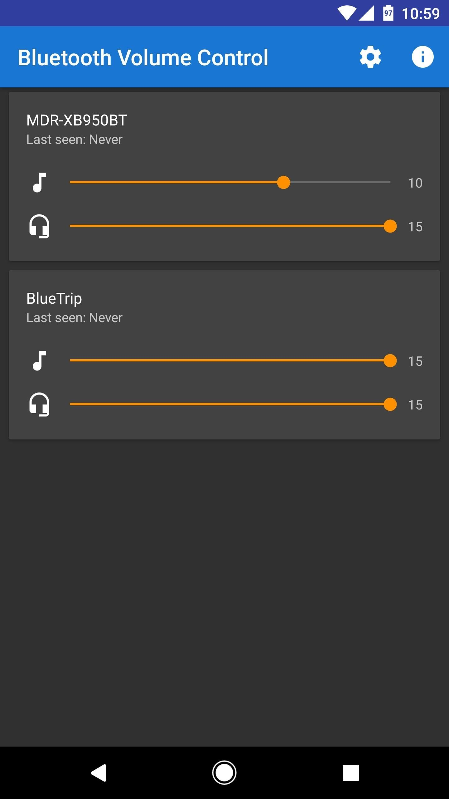 Set Default Volume Levels for Each of Your Bluetooth Accessories Individually