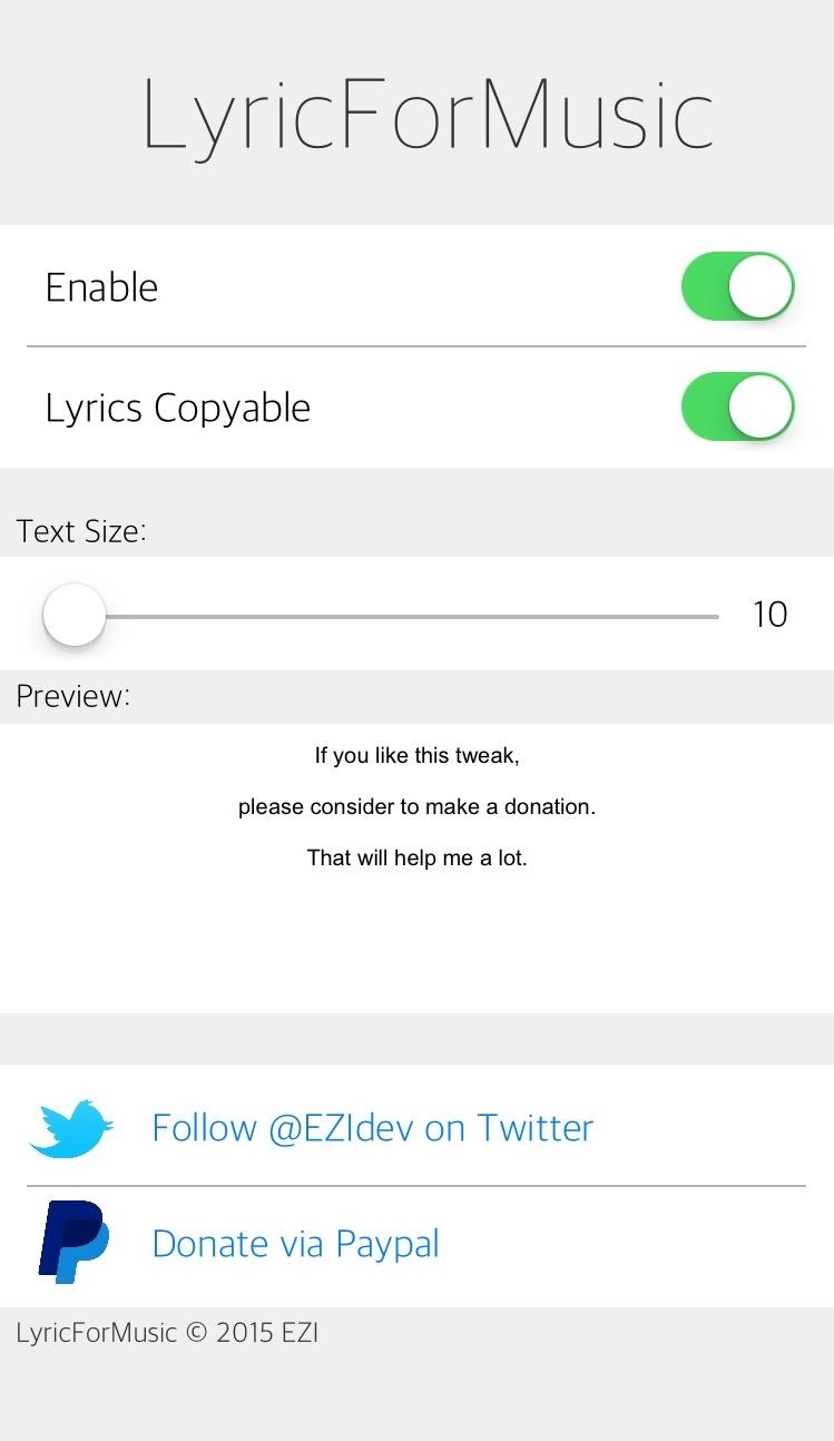 To Utilize The Tweak From Within The Music App, Simply Tap The Album Art  Of How To Make An