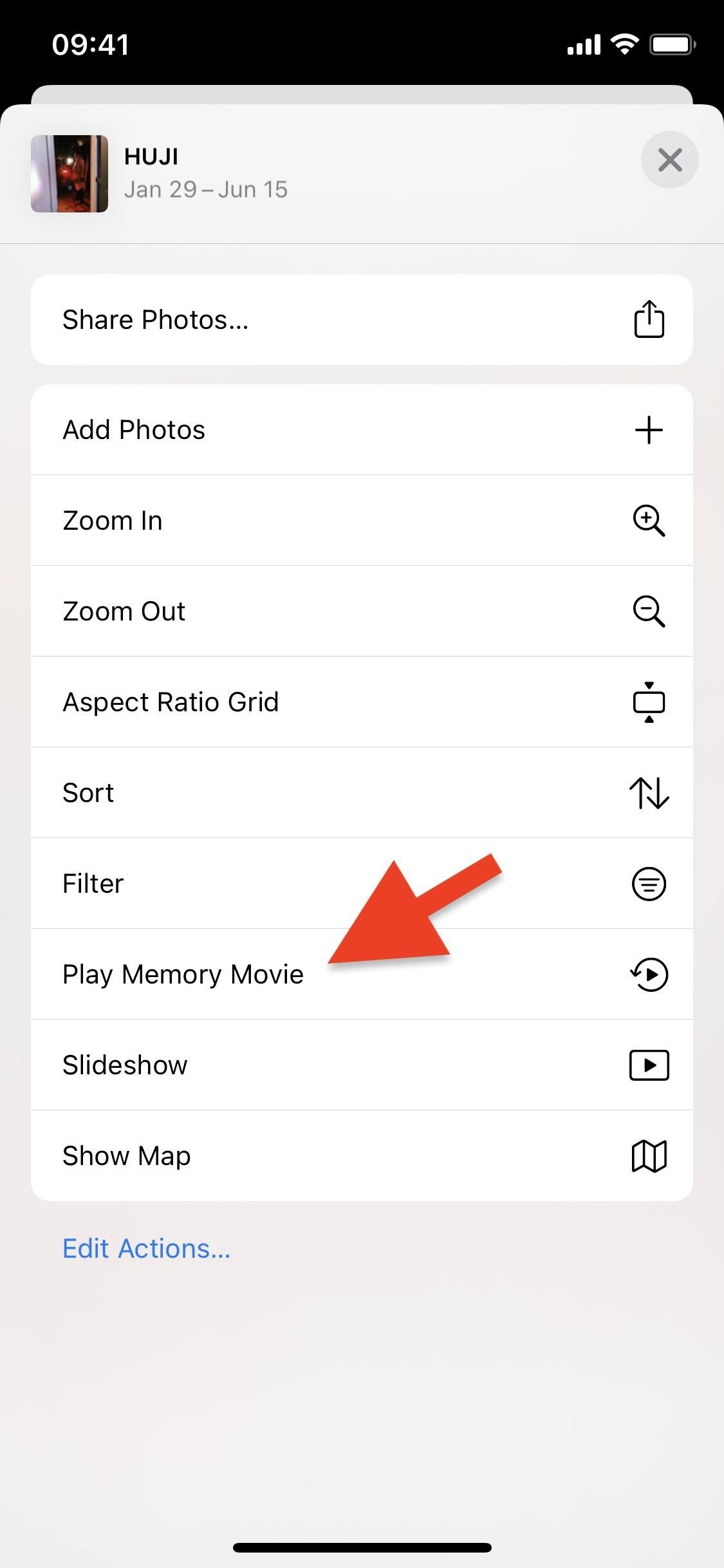 How to Play Memory Movies for Any Album on Your iPhone in iOS 14