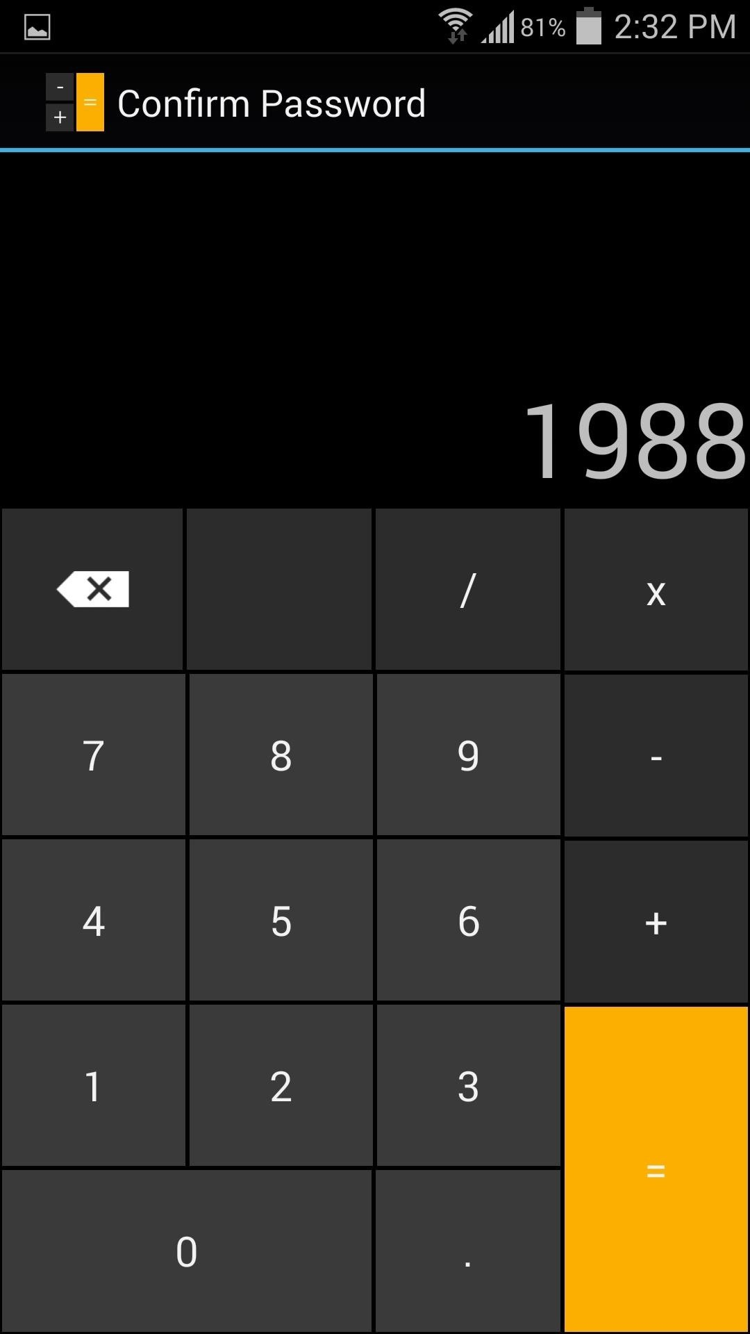 This Innocent Calculator Is Really a Secret App Safe for