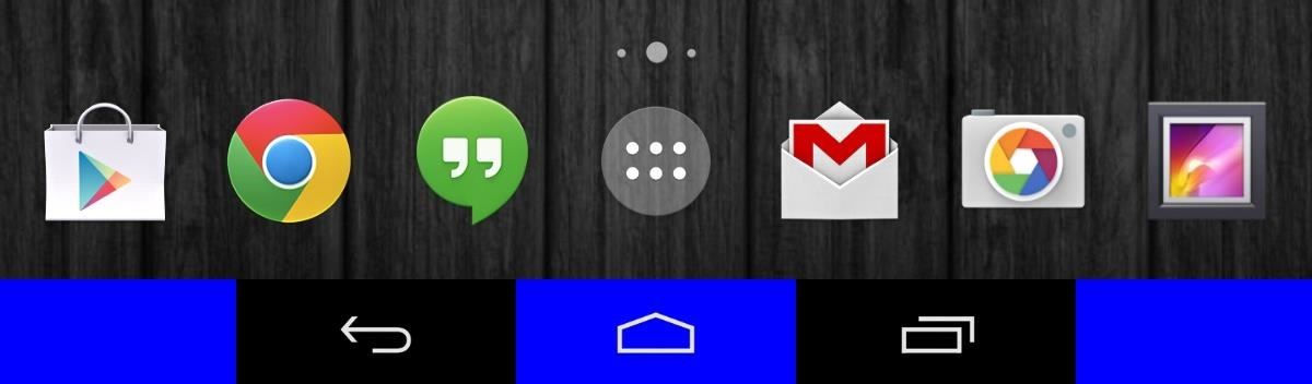 How to Add Color to Your Nexus 7's Navigation Bar
