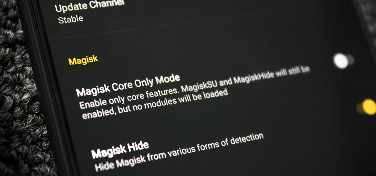 Create & Boot from a Magisk Core-Only Image to Fix a Bootloop Without Custom Recovery