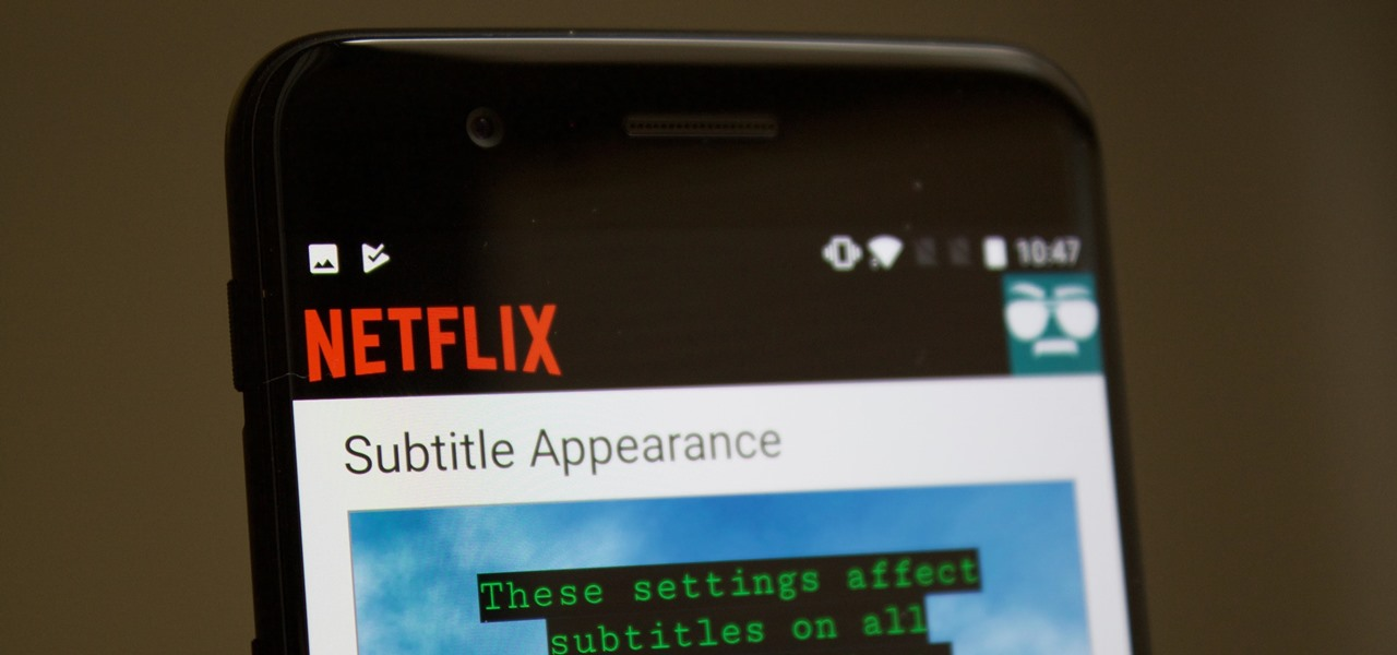 Netflix 101: How to Change the Size, Font & Color of