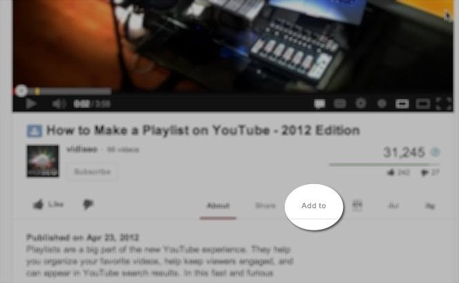 How to Create Playlists on YouTube