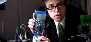 Measure current, voltage, resistance, and continuity using a multimeter