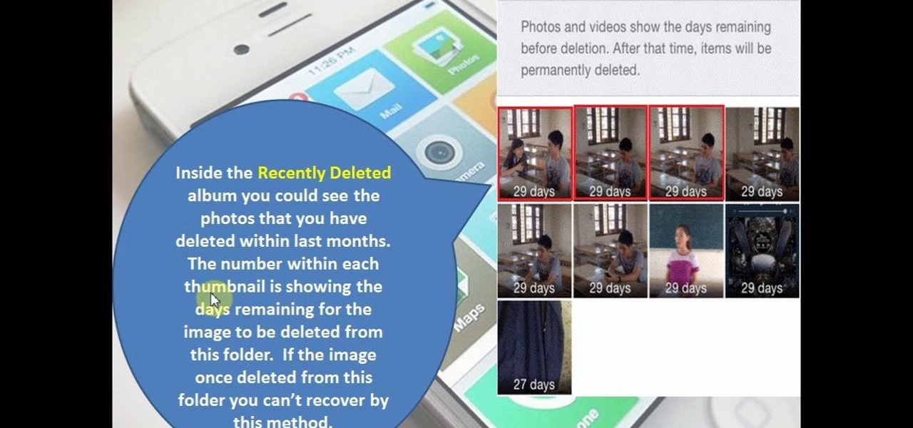 Recover Deleted Videos and Photos in iOS 8