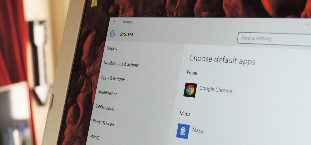 Change the Default Apps Windows 10 Uses by Default