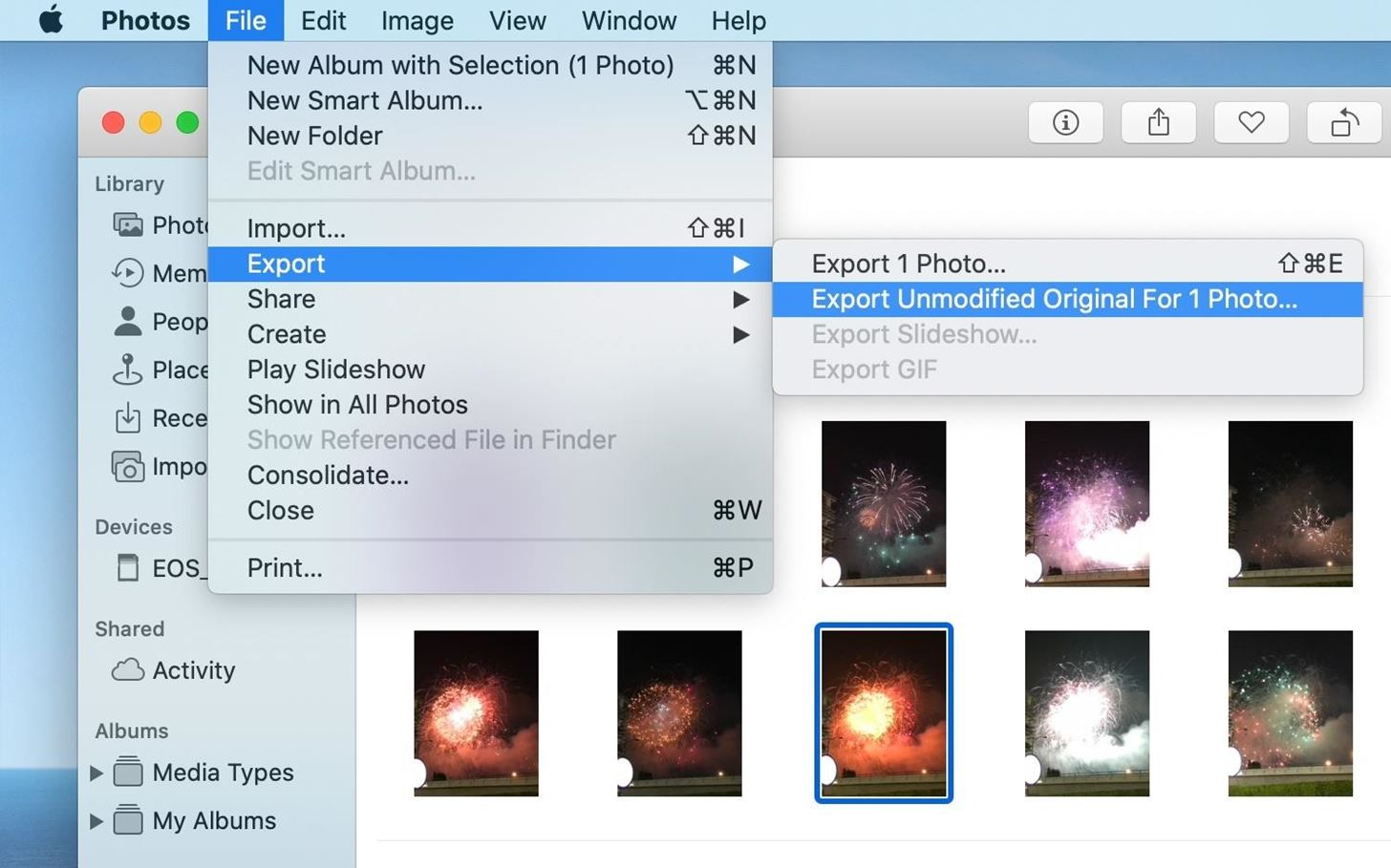 How to Export Your Original Images, Live Photo Videos & Metadata in Apple Photos for Mac