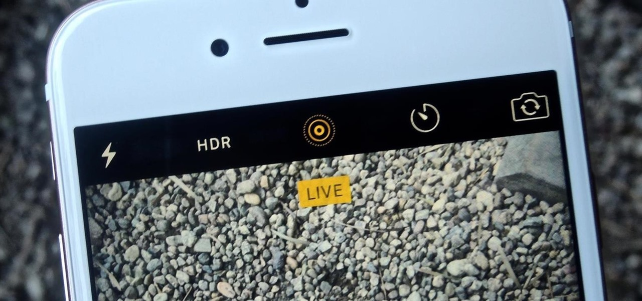 Use Live Photos on Your iPhone