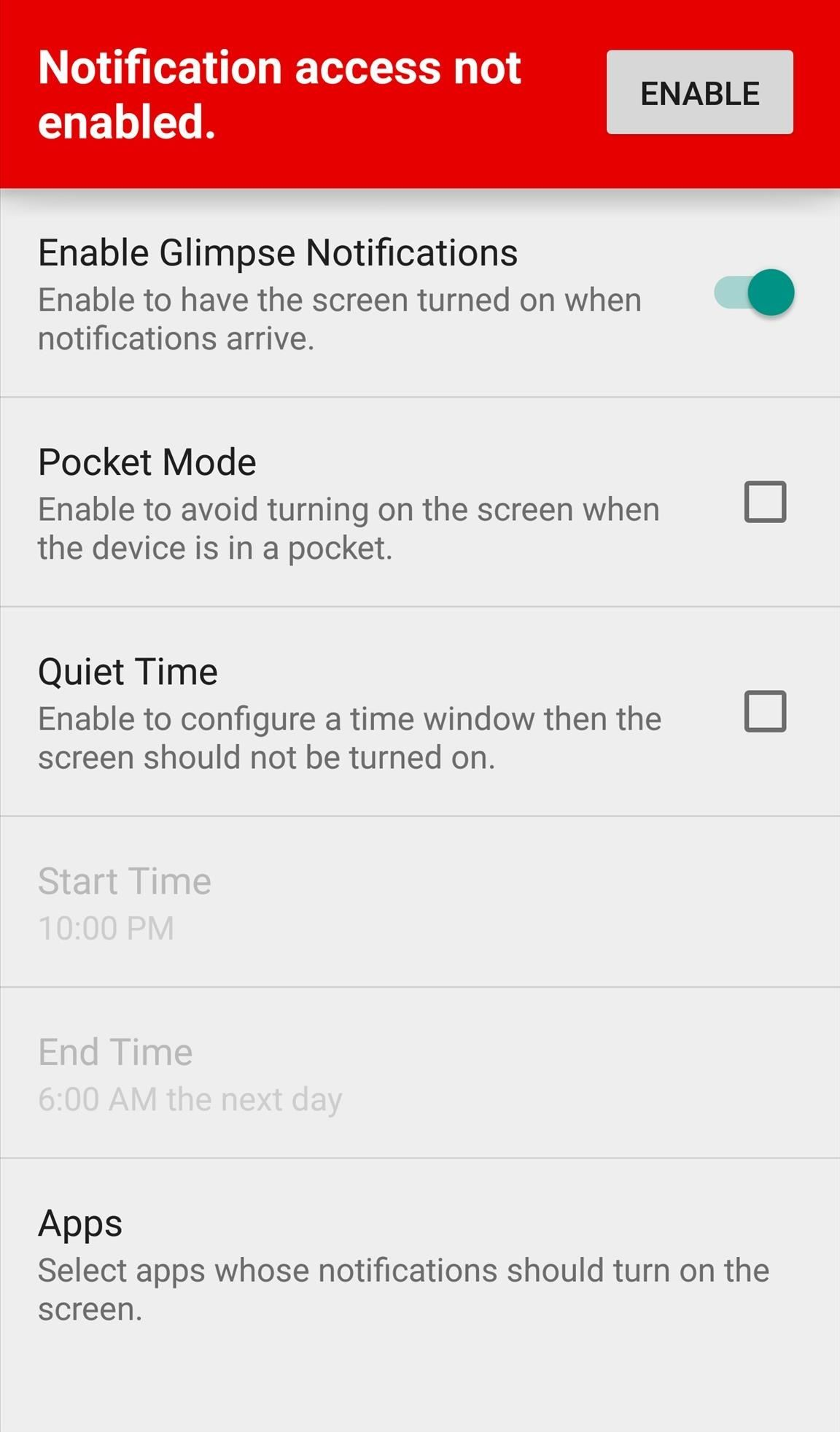 How to Make Incoming Notifications Automatically Wake Your Android's Display