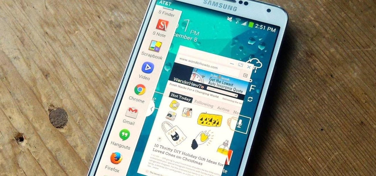 Launch Note 4-Style Floating Windows from the Multi Window Tray on Your Galaxy Note 3