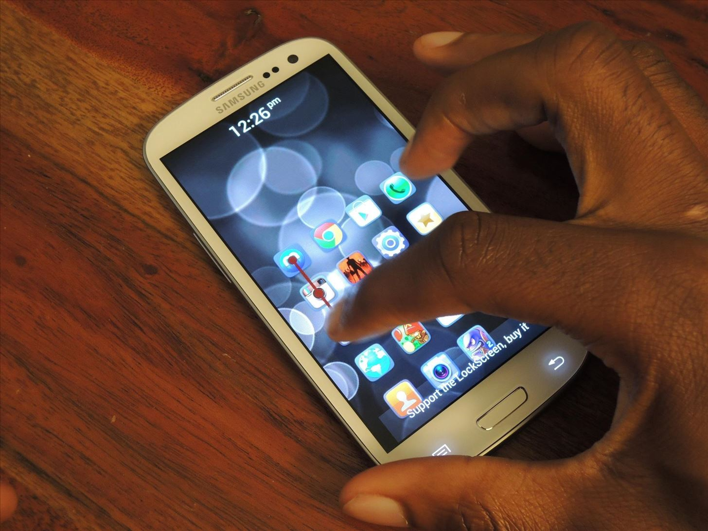 How to Securely Quick Launch Any App You Want from Your Samsung Galaxy S3's Lock Screen