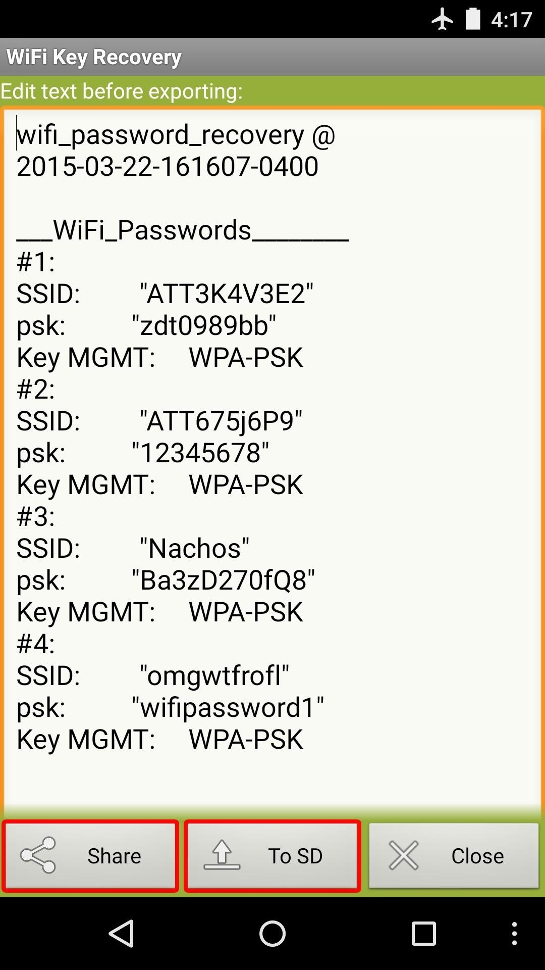 How to find the password, knowing the login 7