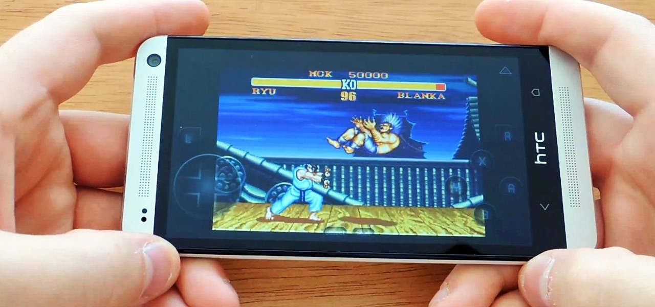 Turn Your HTC One into a Portable Super Nintendo Gaming System