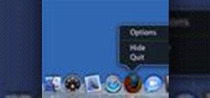 how to turn a mac dock into a windows dock