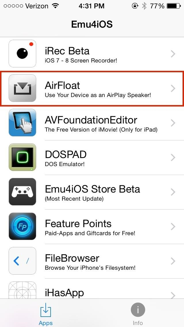Turn Any iPad, iPhone, or iPod Touch into an AirPlay Receiver—Without Jailbreaking!