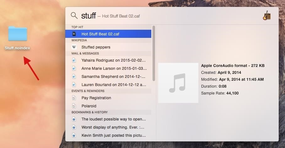 How to Customize Spotlight Search in Mac OS X Yosemite