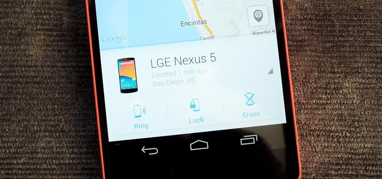 Prevent Thieves from Turning Off Your Stolen Nexus So You Can Locate It