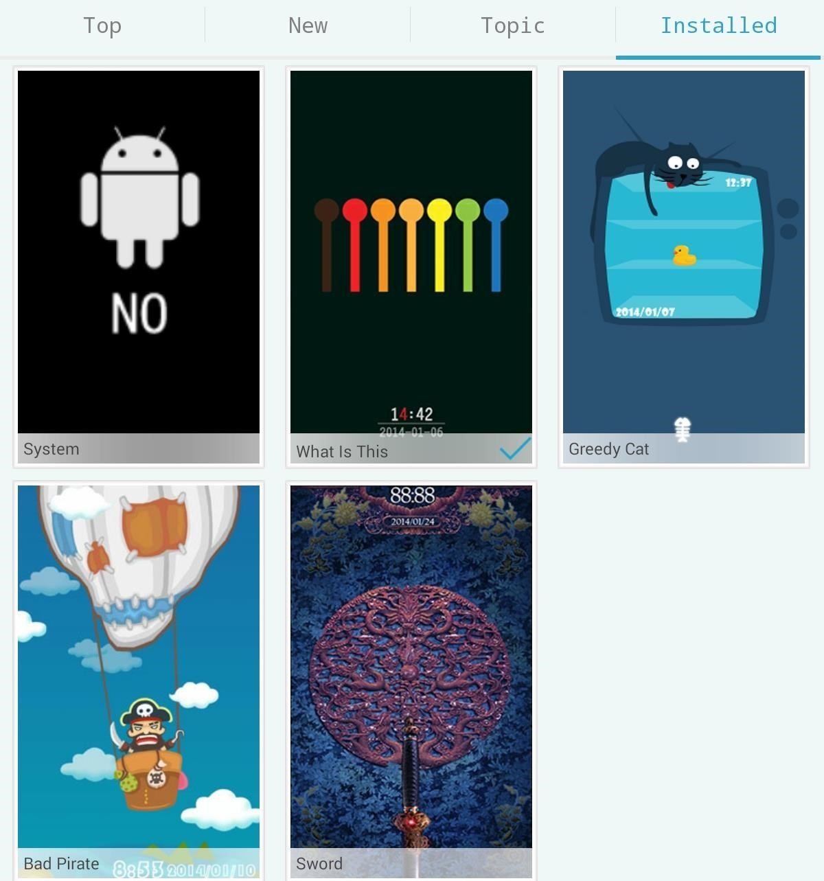 Unlock Your Nexus 7 with These Free Mini Lock Screen Games