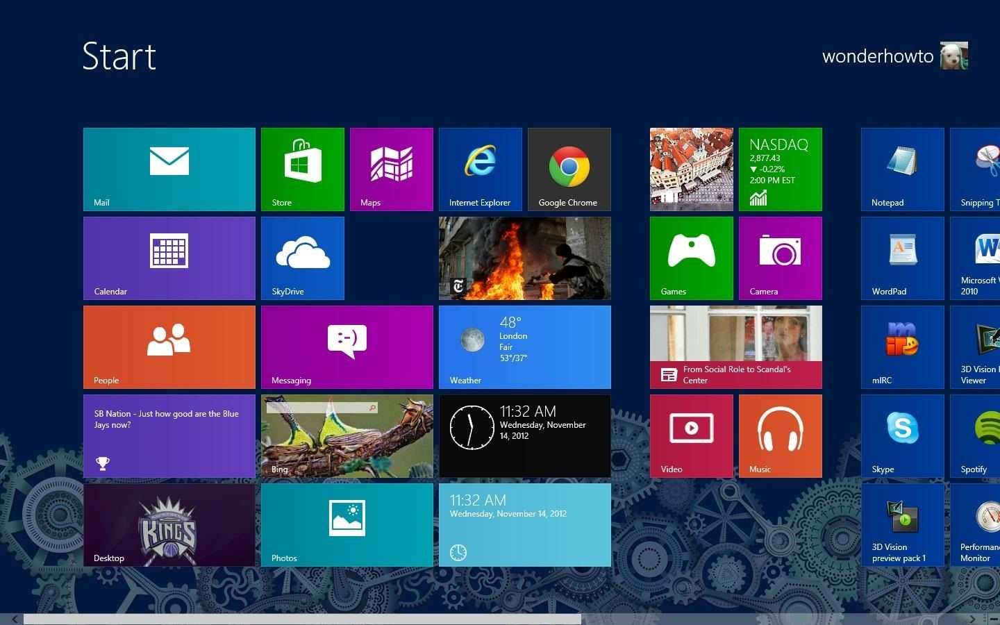 How to Take Screenshots (And Crop Them) in Windows 8