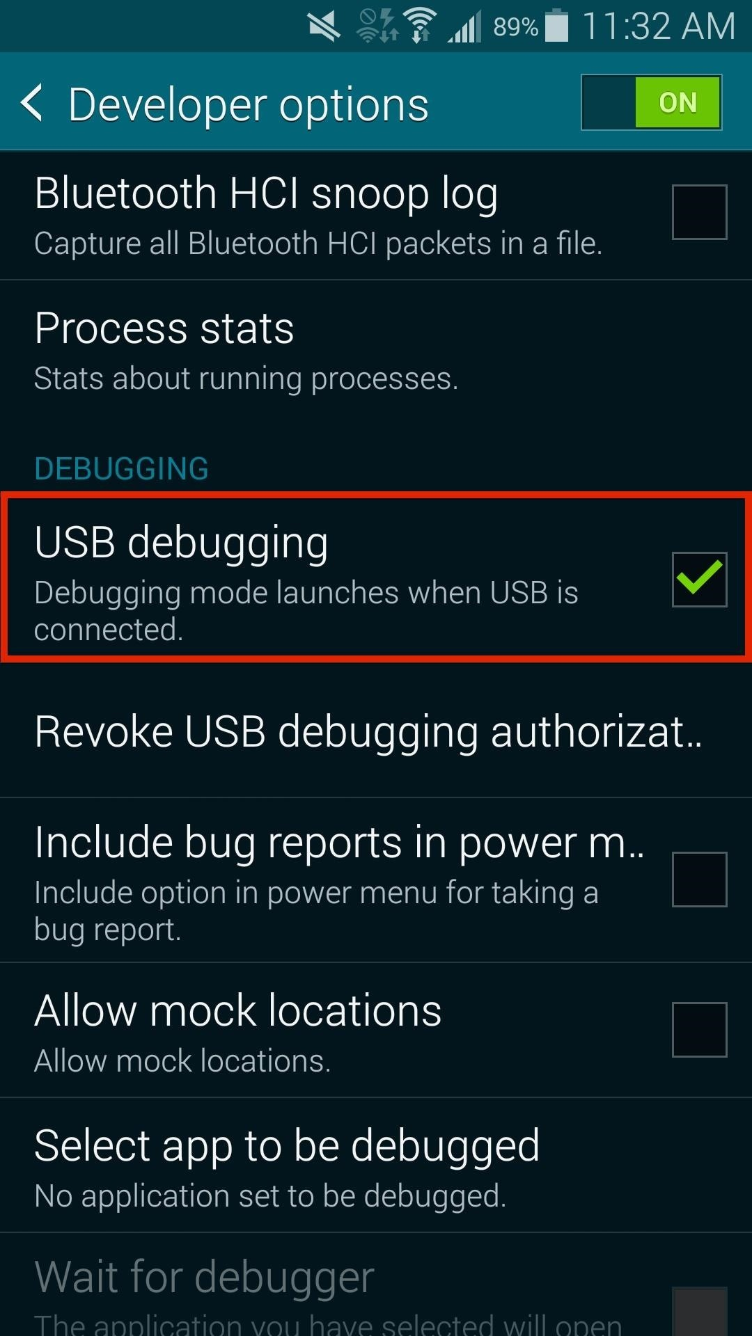 How to Enable Developer Options & USB Debugging on Your Samsung Galaxy S5