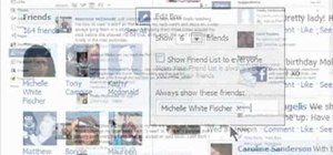 Make your friends list invisible on Facebook