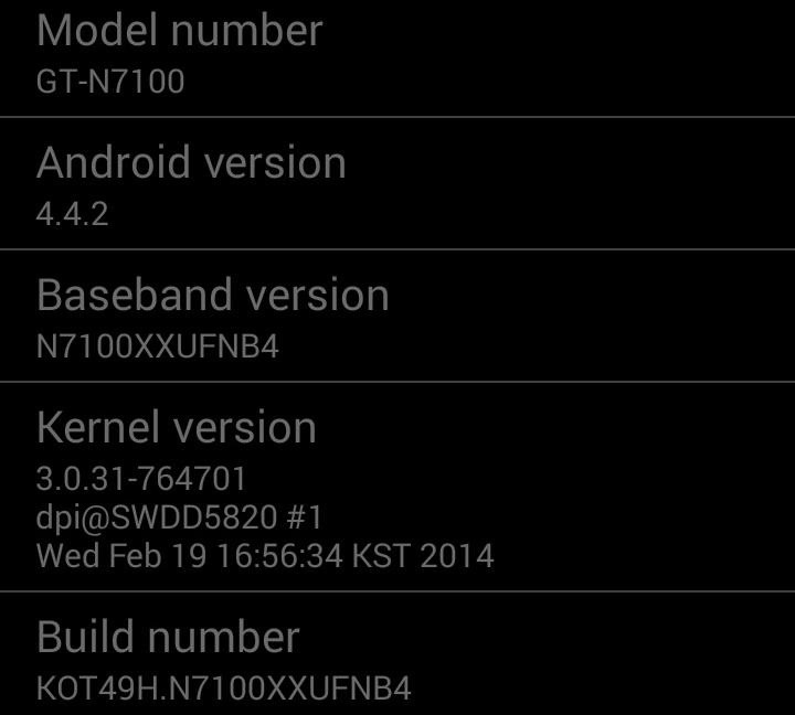 How to Install the Leaked KitKat Build on the Samsung Galaxy Note 2 (International Variant Only)