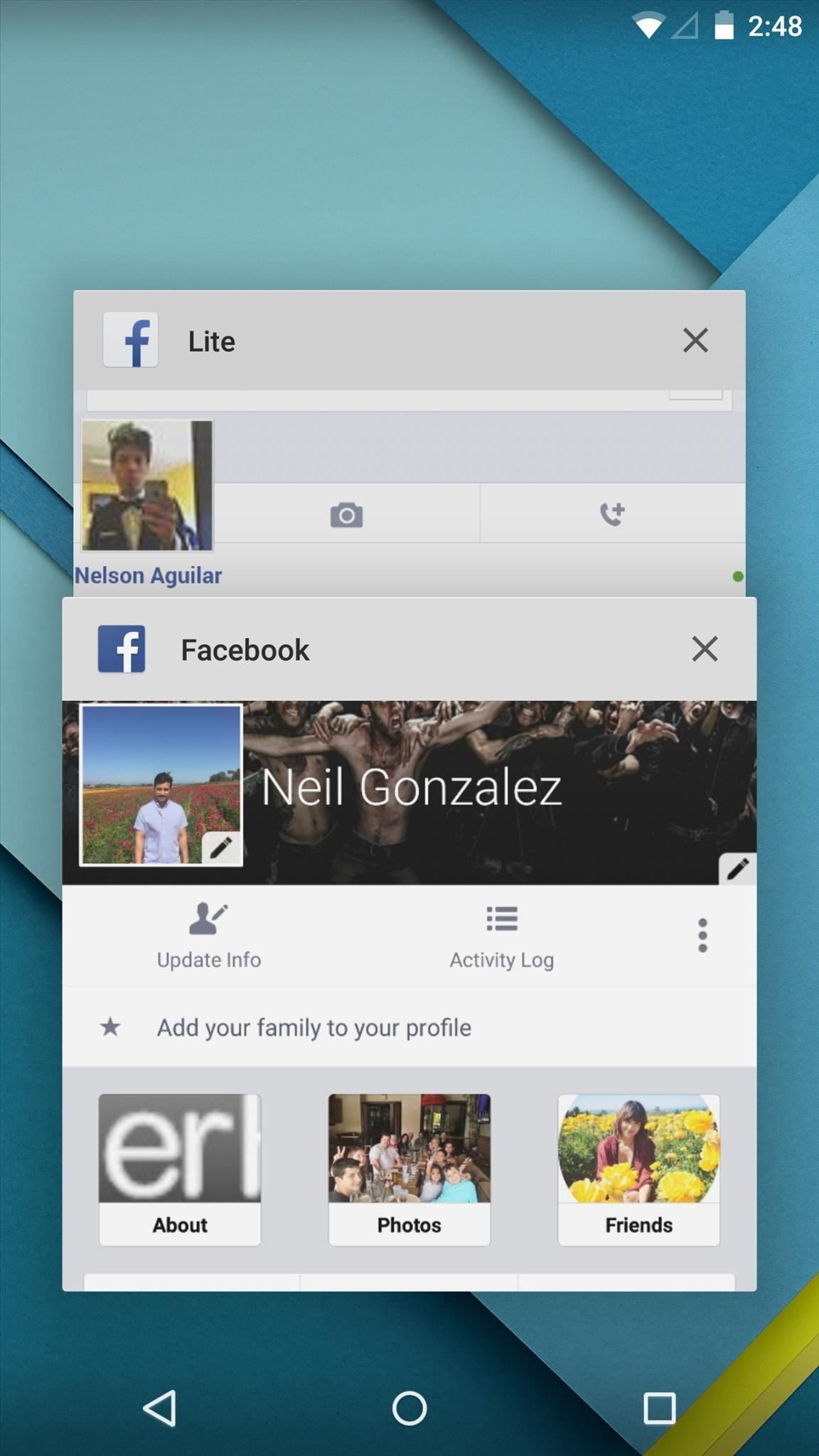 How to Set Up Two Different Facebook Accounts on One Android Device