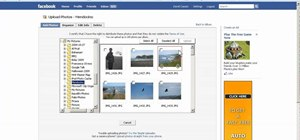 Create a photo album and tag photos in Facebook