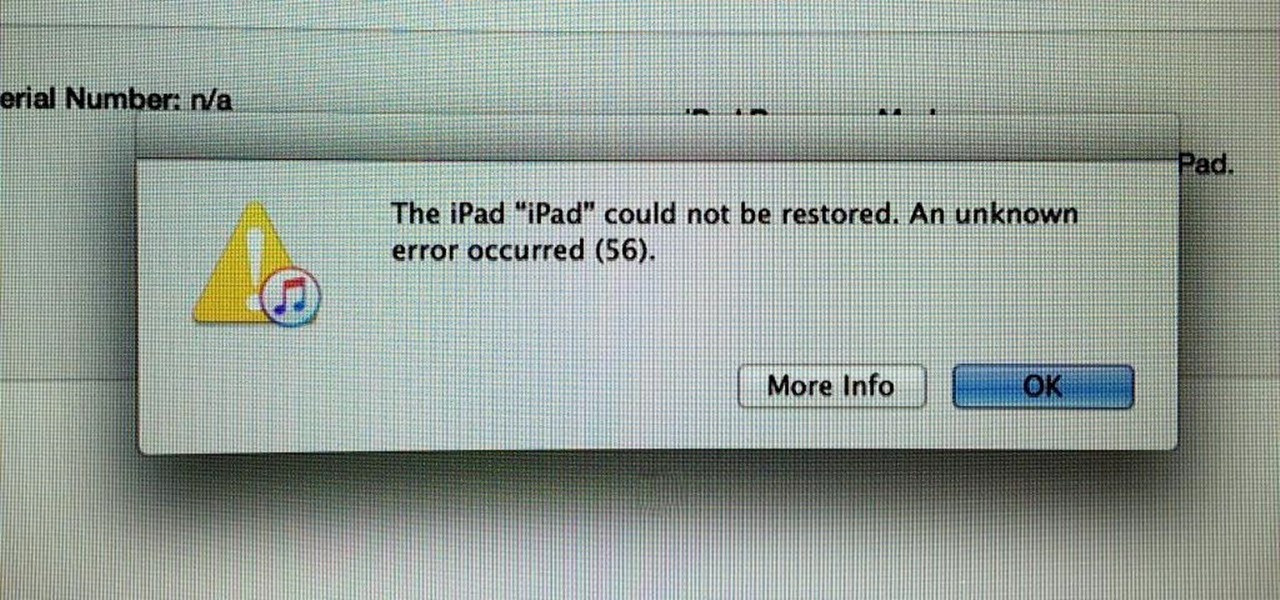 Bricked iPad Pros, Error 56, & How to Fix