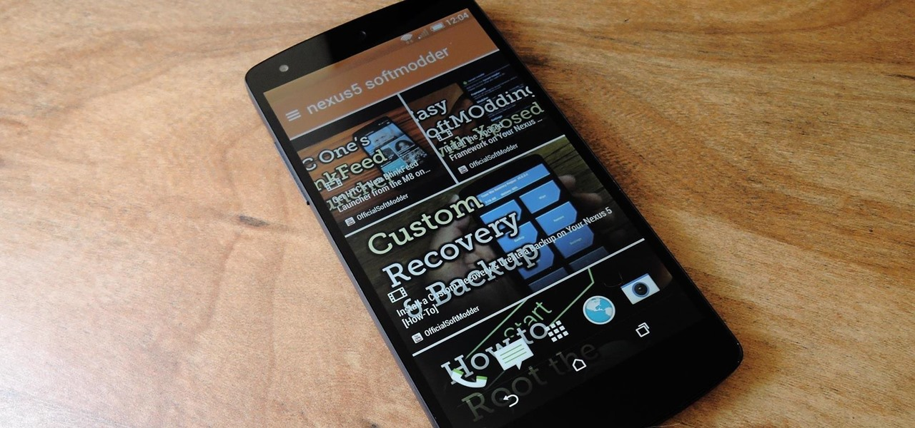 Get Sense 6 from the HTC One M8 on Your Nexus 5