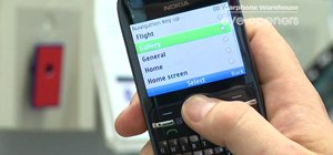 Create custom shortcut buttons on a Nokia C3 smartphone