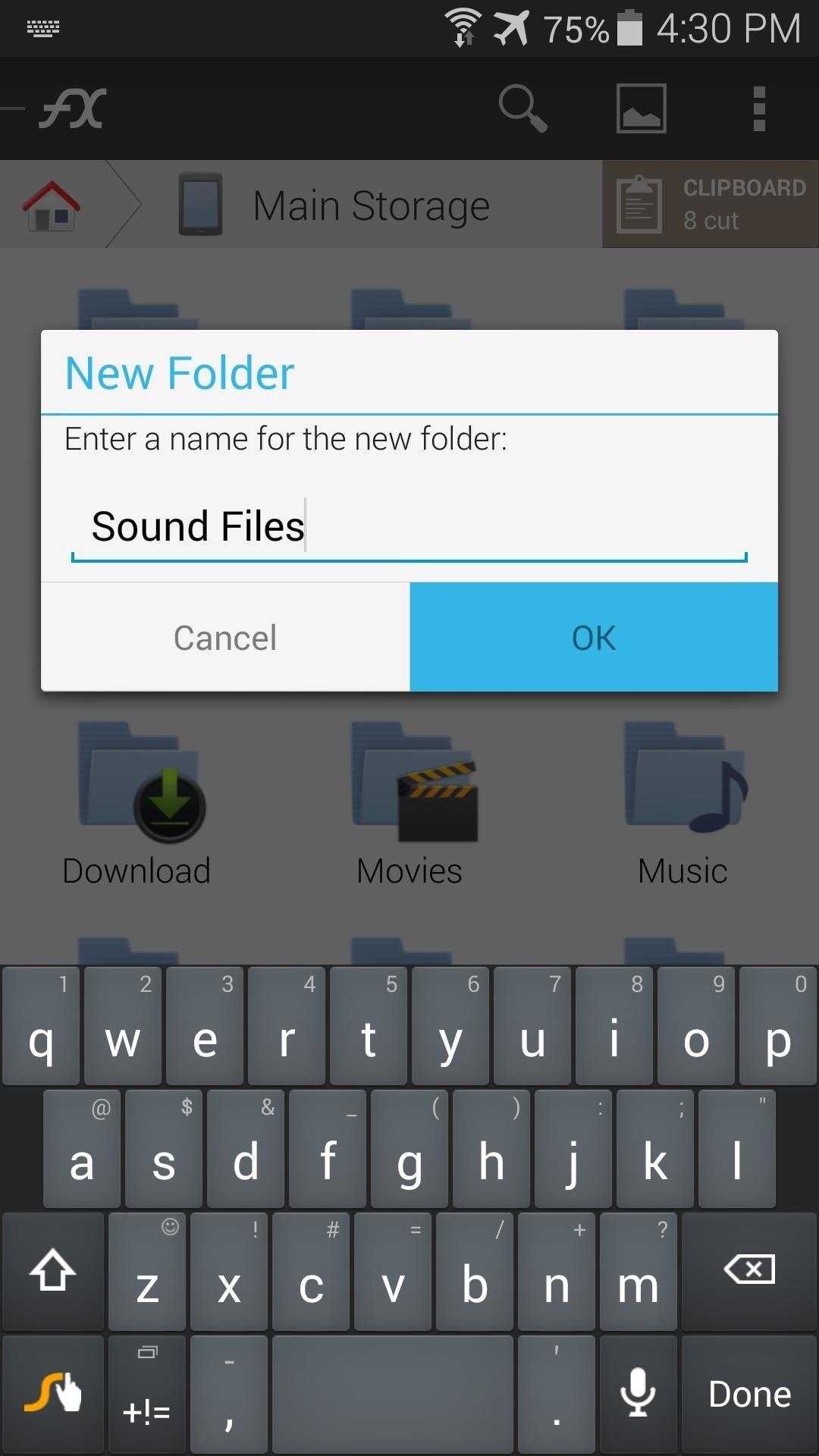 Как сделать папки в андроид телефоне