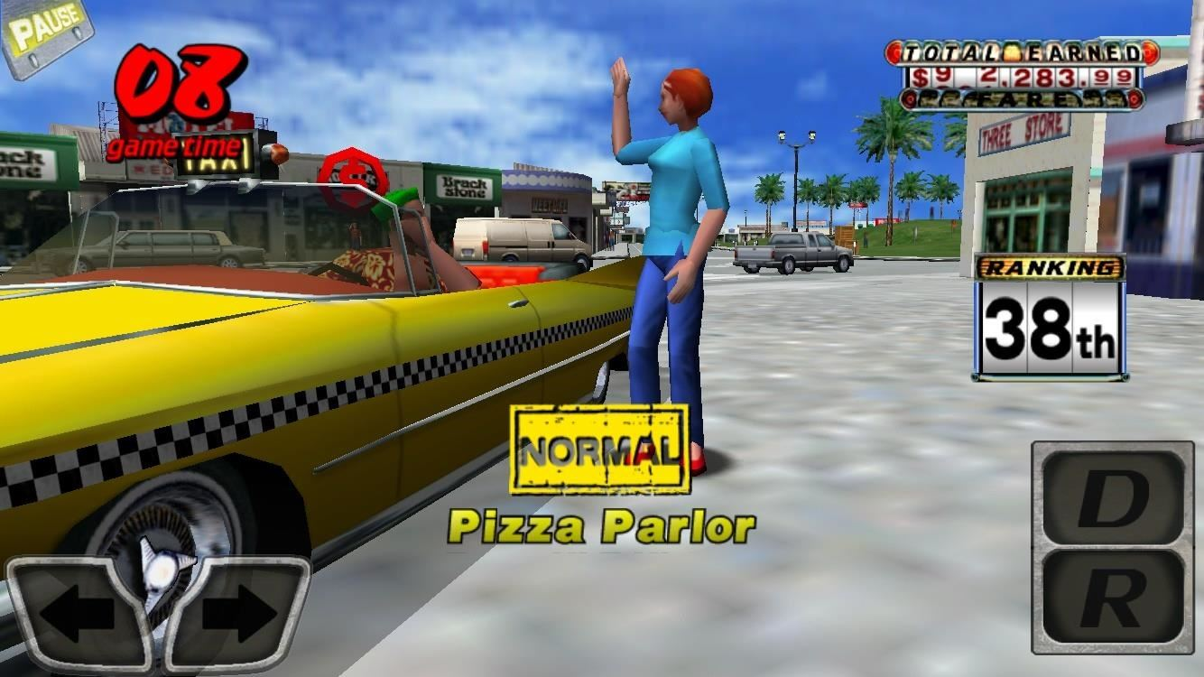 Review: Now You Can Relive the '00s with Crazy Taxi on Mobile for Free