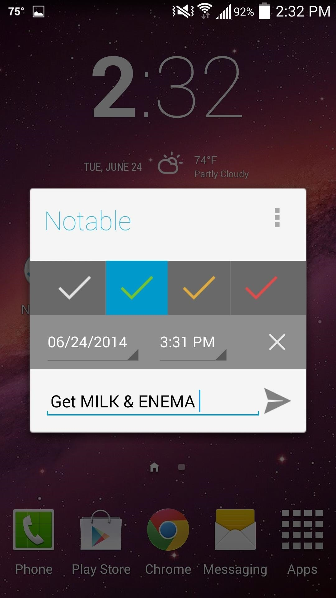 Add Timed Reminders to Your Android's Notification Panel
