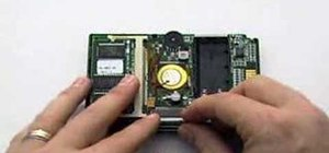 Take apart a Palm Pilot 1000