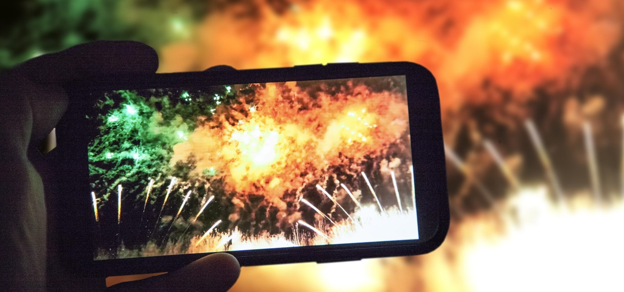 Take Better Fireworks Photos with Your iPhone