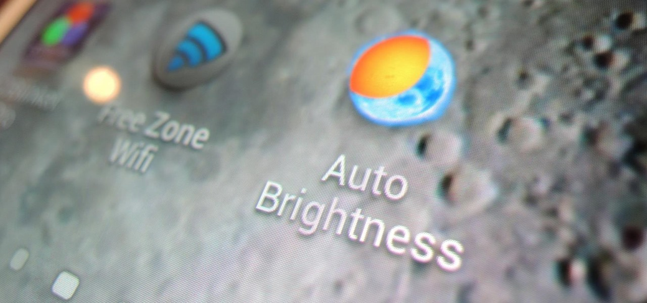 Really Auto Adjust the Brightness of Your Samsung Galaxy Note 2's Screen