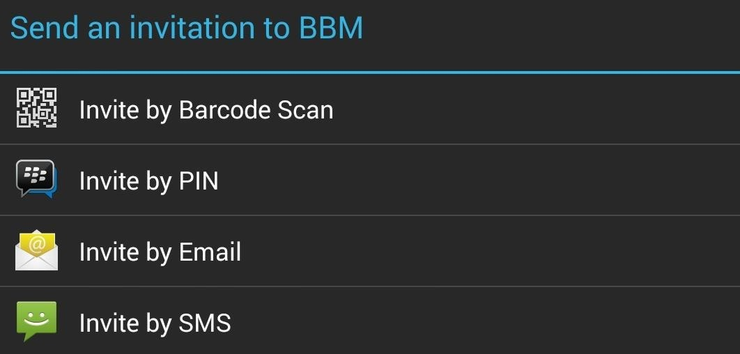 How to Get BlackBerry Messenger (BBM) on Your Nexus 7 or Other Android Tablet
