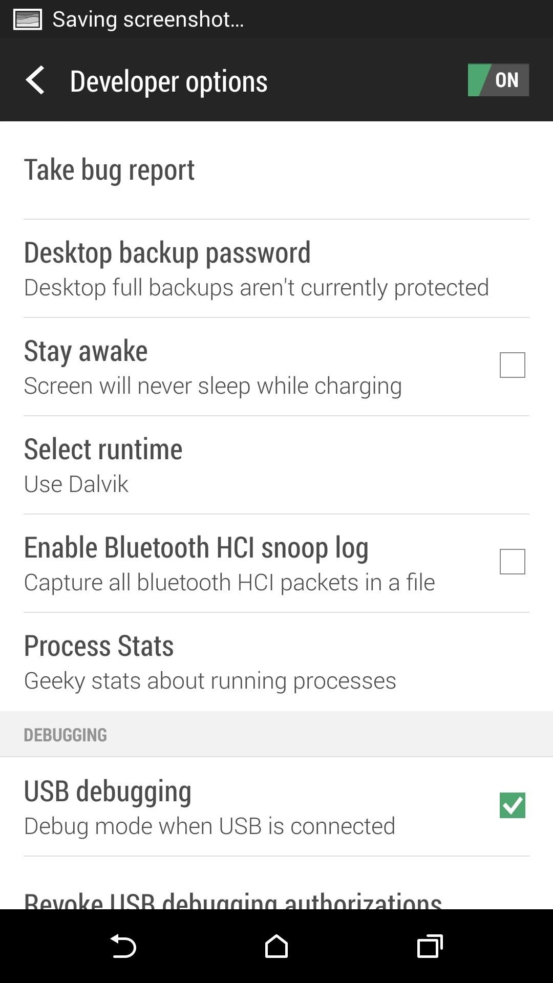How to Unlock the Hidden Developer Options on Your HTC One