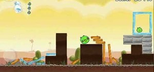 Beat Angry Birds level 3-14 with three stars