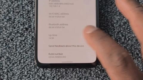 How to Activate the Hidden Developer Options Menu on Your Pixel 4a
