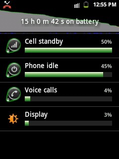 "How to save battery from ""Cell standby"" and ""Phone idle"""