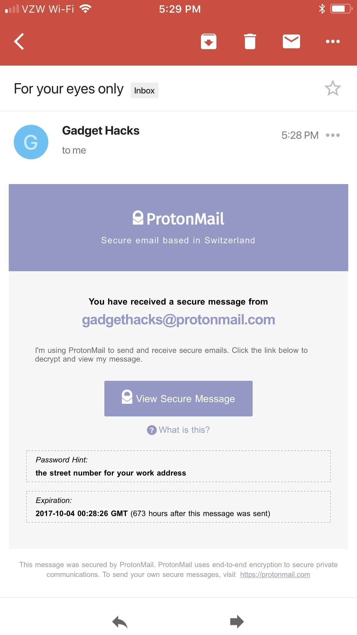 send secure email gmail