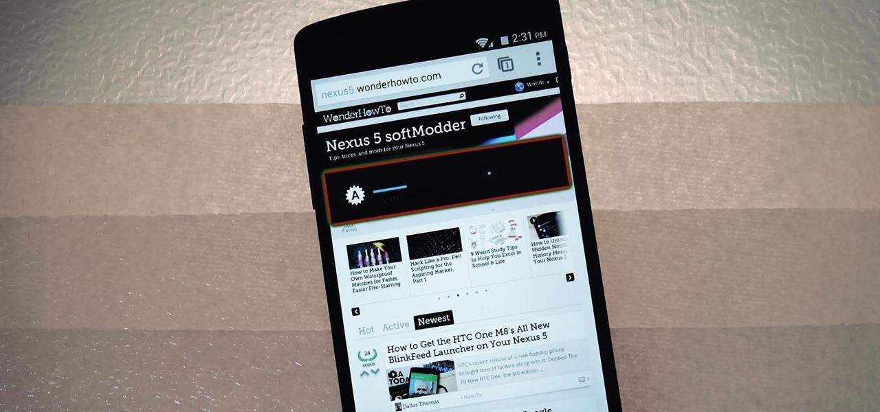 Fix the Random Auto Brightness Spikes on Your Nexus 5